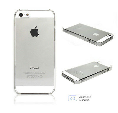 Colorant best anti scratch clear case iPhone 5 5S 5SE space gray siver