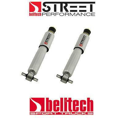 """82-04 S10/Sonoma 2WD Street Performance Front Shocks for 0"""" - 2"""" Drop (Pair)"""