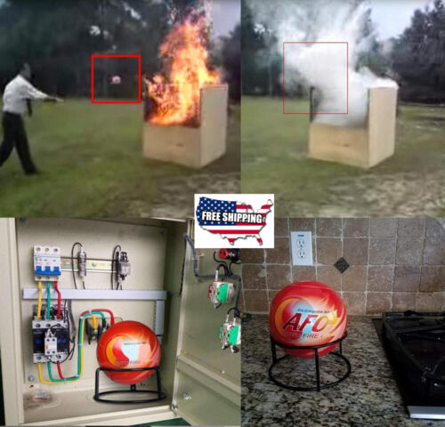 AFO Fire Ball Automatic Dry Powder Car Fire Extinguisher For Cars House Suppress