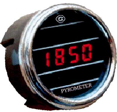 Teltek Pyrometer Gauge Exhaust Gas Temperature Sensor for any semi, Truck or Car