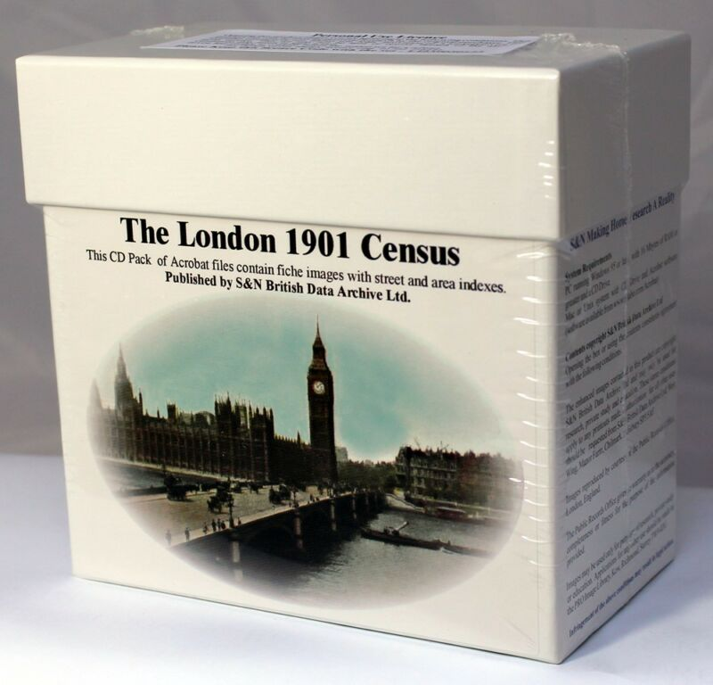London 1901 Census