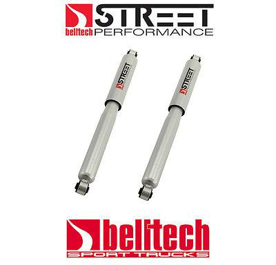 Belltech 07-18 Silverado/Sierra Street Performance Rear Shocks for 8/9 Drop Pair