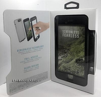 LifeProof NUUD iPhone 7 Plus iPhone 8 Plus Waterproof Shockproof Hard Case Black