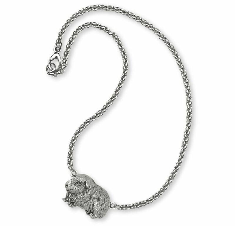 Guinea Pig Bracelet Jewelry Sterling Silver Handmade Piggie Bracelet GP7-B