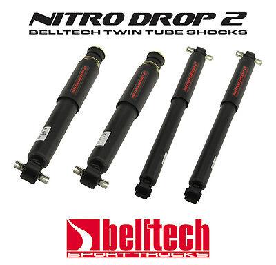 82-04 S10/Sonoma 2WD Nitro Drop 2 Shocks for 2/3 Drop