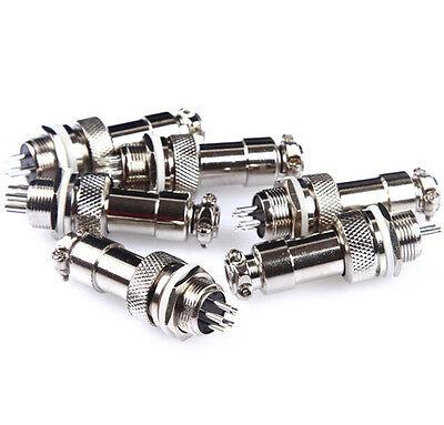 GX12 Aviation Circular Connector Male Plug / Female Socket Diameter 12mm Newest