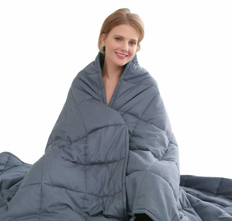 Amy Garden All-Seasons 7 Layers Cotton Preminum Weighted Bla