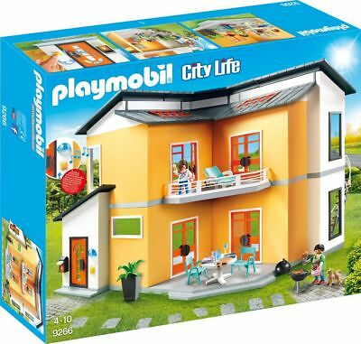 Playmobil 9266 Modernes Wohnhaus Neu & OVP