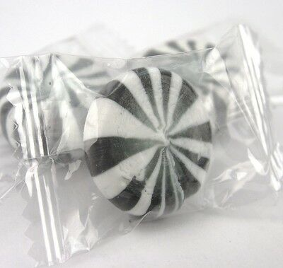 Licorice Starlight Mints - Wrapped Licorice Starlight Mints - Pick a Size! - Free Expedited Shipping