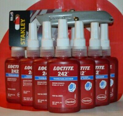10 Bottles Of Loctite 242 50ml Medium Strength Thread Locker  Exp 920  24231