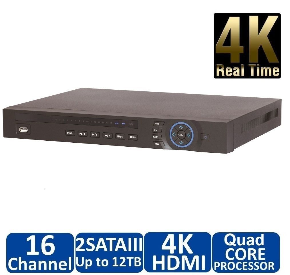 Dahua NVR4216 16 Channel Security Network Video Recorder Onv