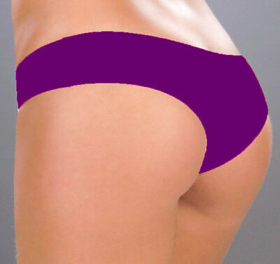 (3002 Purple Booty Boy Shorts Yoga Gym Hipster Bikini Dancer RAVE S M L)