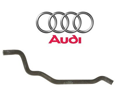 For A4 Quattro L4 Water Vent Hose Upper Radiator Hose to Expansion Tank Genuine