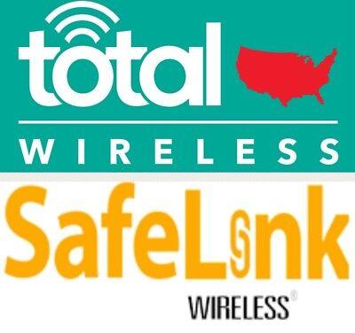 Total   Safelink Wireless Iphone 5 6 7 Us Reseller Flex 4000 2360 Unlock Service