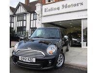 2012 MINI COOPER,AUTOMATIC,HATCHBACK,PETROL 1.6,LOW MILES,LEATHER SEATS,PARKING SENSORS,AIRCON,CD,