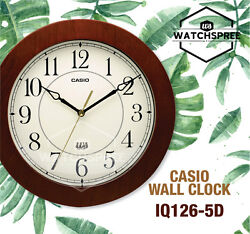 Casio Wall Clock IQ126-5D