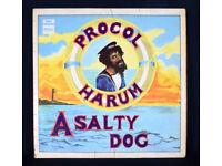 Procol Harum A Salty Dog Vinyl Album 1969 1st Pressing SLRZ 1009 VG+ UK Post £7