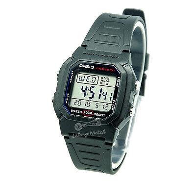 -Casio W800H-1A Digital Watch Brand New & 100% Authentic