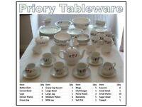 Tableware (BHS Priory)