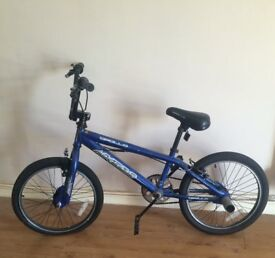 Bight blue bmx frame apollo mx20.2 unisex