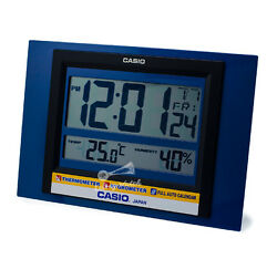 -Casio ID16S-2D Digital Clock Brand New & 100% Authentic