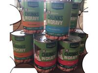Morrisons Cat Canned food*9: Chunks in Gravy. 3 Chicken, 3 Lamb, 2 Beef, 1 Ocean Fish