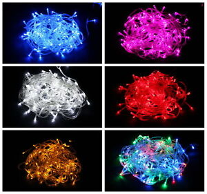 10M-20M-30M-100-200-300-LED-Christmas-Garden-Wedding-String-Fairy-Tree-Lights