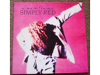 Simply Red - A New Flame Vinyl LP
