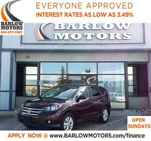 2013 Honda CR-V EX-L LEATHER/AWD**SPRING BLOWOUT**