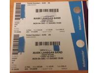 Mark Lanegan Band 2x Edinburgh Liquid Rooms 4/12/2017 SOLD OUT