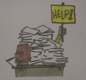 Do you need help with your bookkeeping and/or paperwork?
