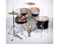 Junior 5-Piece Drum Kit - Black
