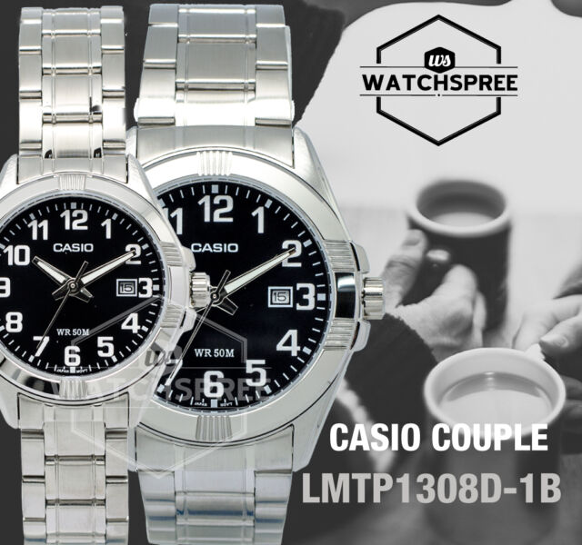 Casio Couple Watch LTP1308D-1B MTP1308D-1B