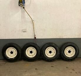 Land Rover Series Wheels Refurbished