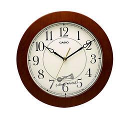 -Casio IQ126-5D Analog Clock Brand New & 100% Authentic