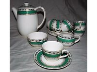 A.G. Richardson – Crown Ducal Ware Crown Ducal Coffee / Tea Set