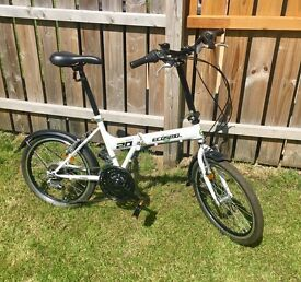 ECOSMO Folding City Bicycle Bike (RRP 199.99) Great condition
