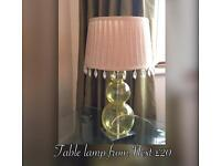Table lamp from Next
