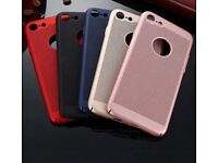 50 X High Quality iPhone 8 Breathable Mesh Honeycomb Slim Hard Cases In 5 Colours