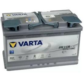 Varta silver dynamic AGM 80ah 800a 12v battery