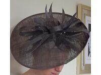 Beautiful Ladies Pewter Hat