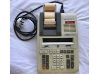 CASIO DR-1210 Electronic Calculator fully working mains plug in