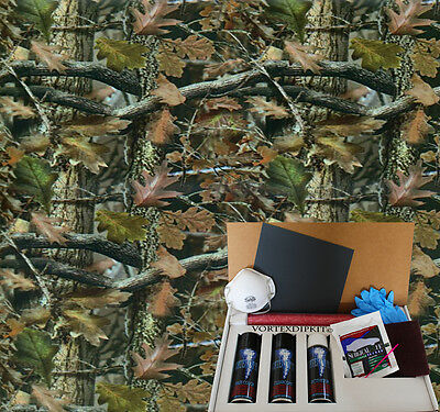 Hydrographics Dip Kit Activator Water Transfer Printing Leafy Greens Camouflage