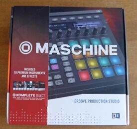 Native Instruments Maschine Mk2, Black, with Komplete 11 Select, Sealed Box, Brand New