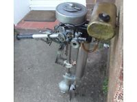 British Seagull 5 HP Outboard Engine for Fishing Boat Dinghy or Tender.