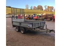 2010 Ifor Williams Lm105 ramp back door ideal groundcare