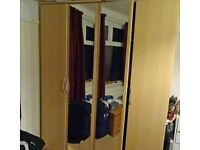 FREE Wardrobe DOORS with Mirrors only 4x Full height doors 2 of them full MIRRORS