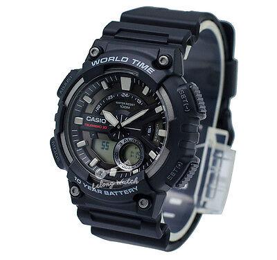 -Casio AEQ110W-1A Analog-Digital Watch Brand New & 100% Authentic
