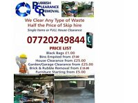 Rubbish Removals , Garden clearance , house and garage clearance