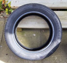 4 x Continental ContiSportContact™ 5 - Size 235/50 R18 97V – Nearly new!